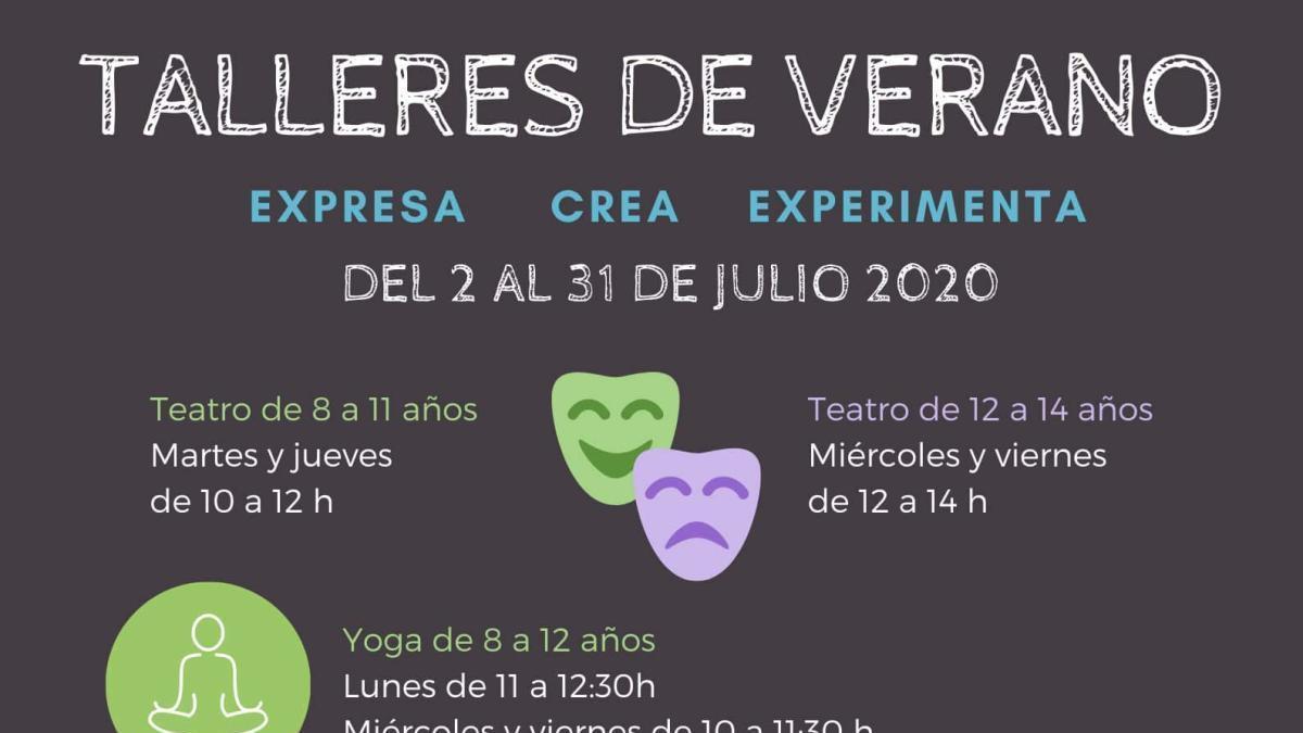 Sant Joan presenta los talleres municipales para el verano