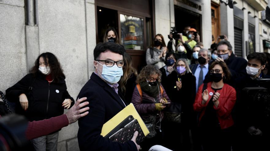 El Supremo inhabilita al diputado Nuet por desobediencia en el 'procés'