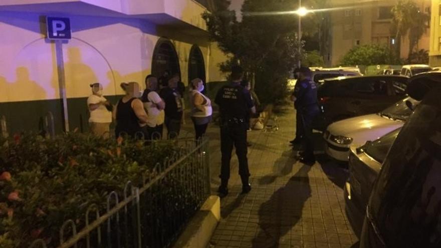 Denunciadas 160 personas en Las Palmas de Gran Canaria por no llevar mascarilla