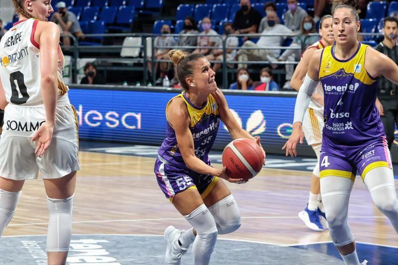 Partido Clarinos Tenerife-Zaragoza, Liga Femenina Endesa