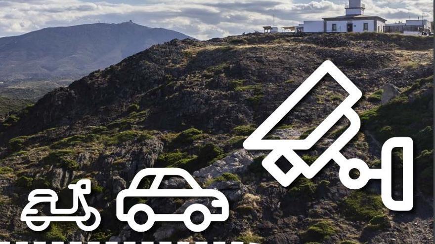 La Punta de Cap de Creus i el Paratge de Tudela regulen l'accés motoritzat fins al 30 de setembre