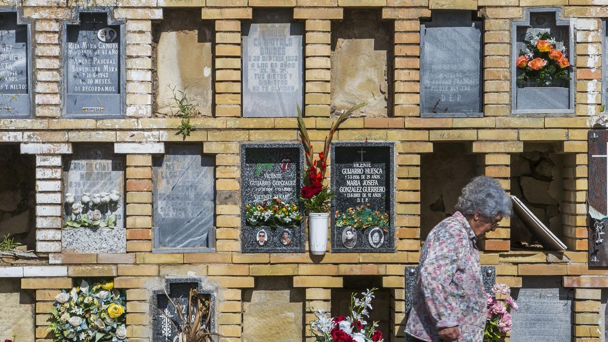 Imagen de archivo del cementerio de Alicante