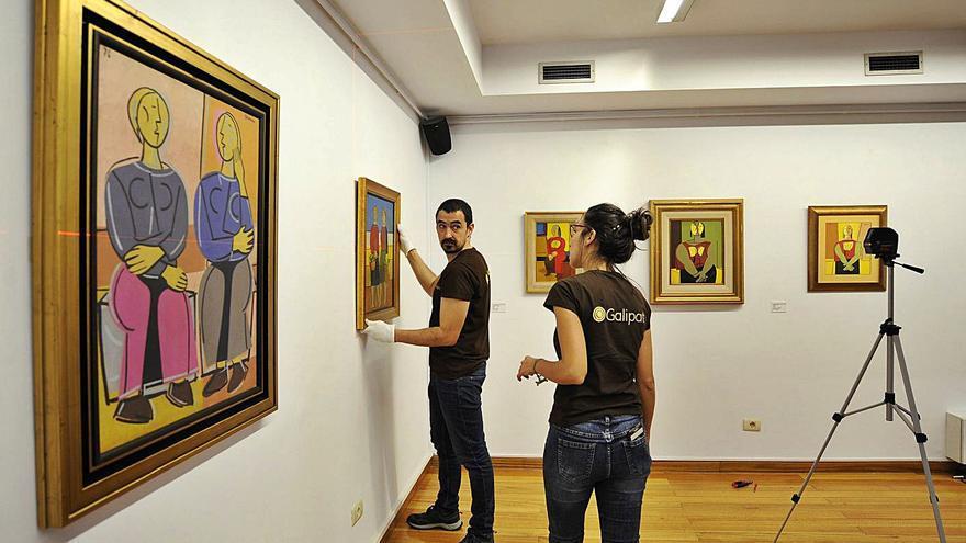 La Fundación Luis Seoane hará inventario de todas las obras que se le atribuyen al artista