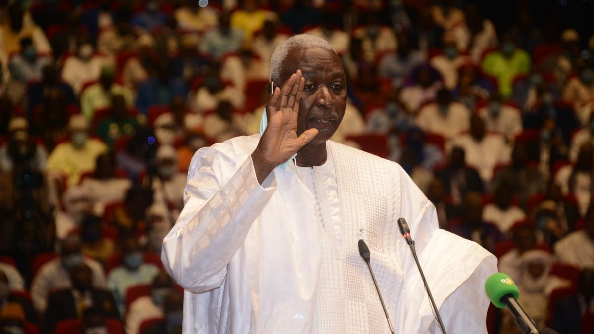 El presidente interino de Malí, Bah Ndaw