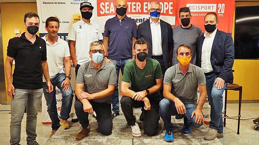 Professionals i amateurs, tots tenen cabuda a la Sea Otter Europe
