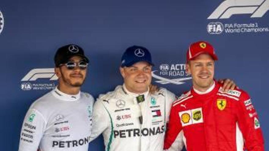 Bottas arrebata la «pole» a Lewis Hamilton en el Gran Premio de Rusia