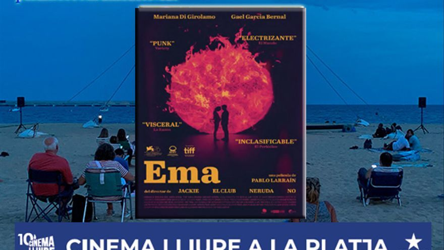 Cinema Lliure a la platja, Ema de Pablo Larraín