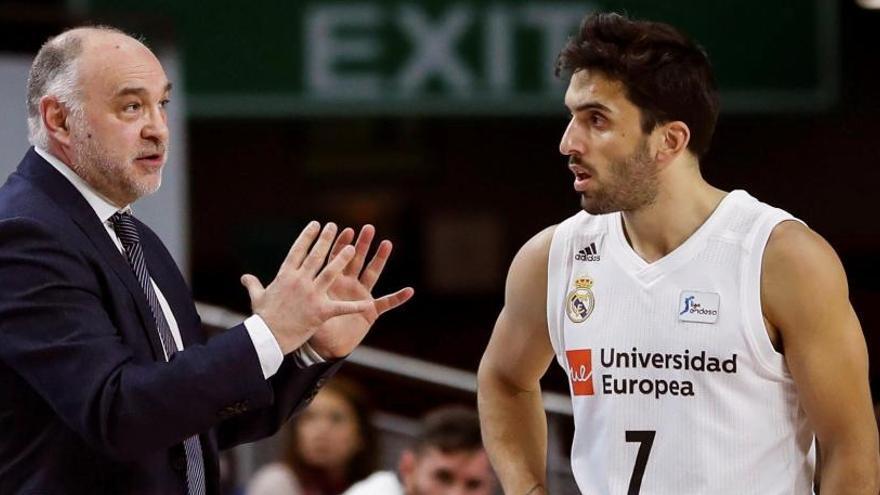 El Madrid gana y se reconcilia con la línea de triple