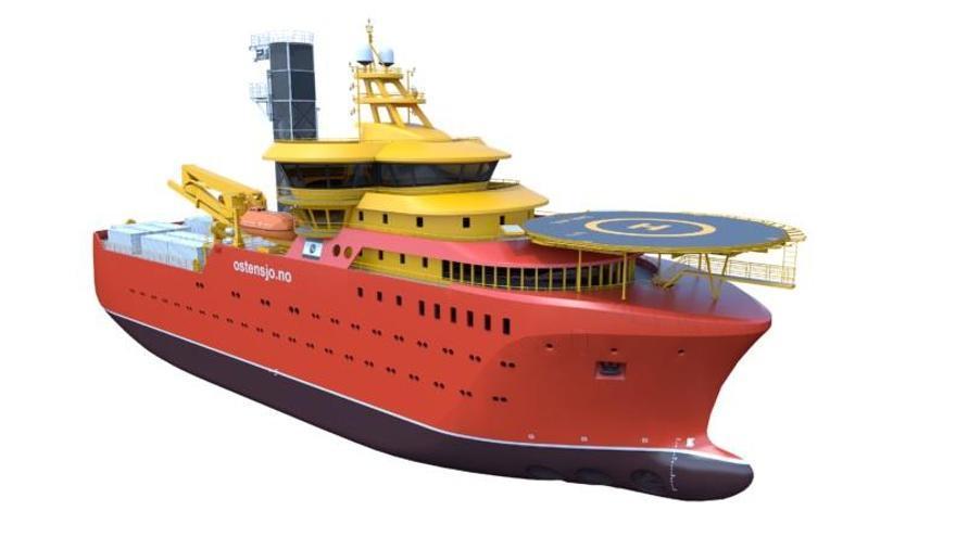 Gondán firma la construcción de cuatro buques de casi 90 metros para el sector eólico