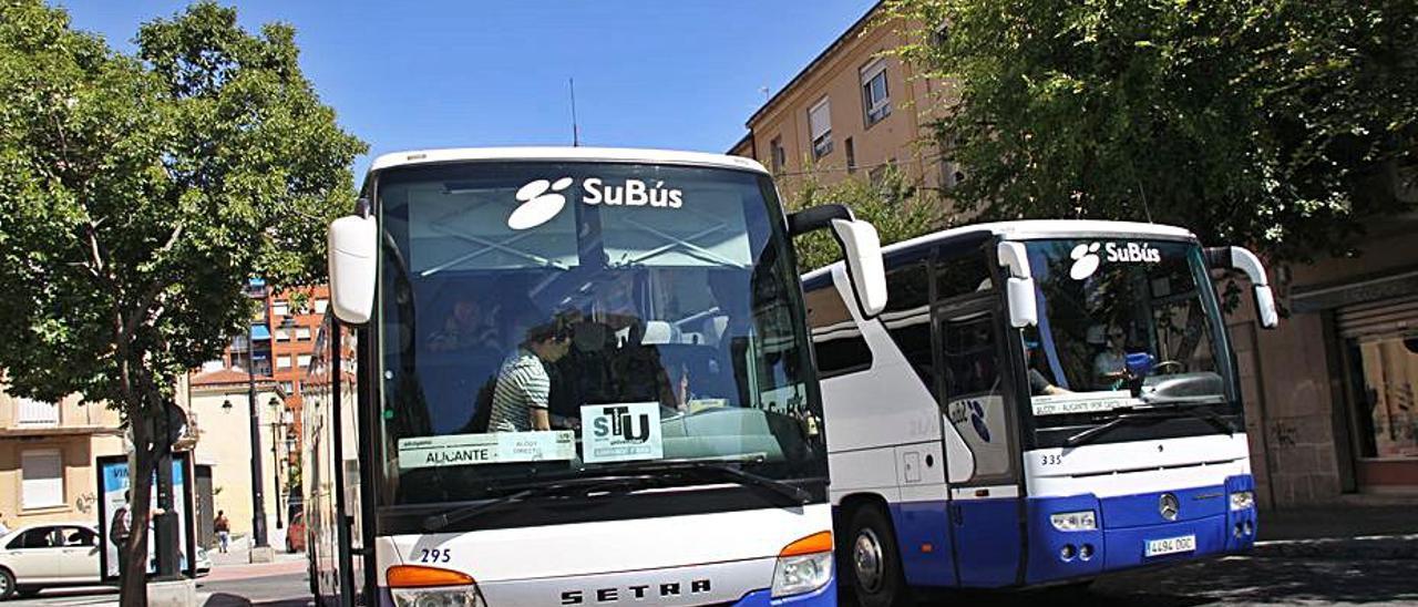 Imagen del servicio de autobús universitario. | R. C.