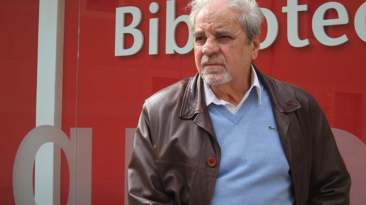 Archive - Catalan writer Juan Marsé