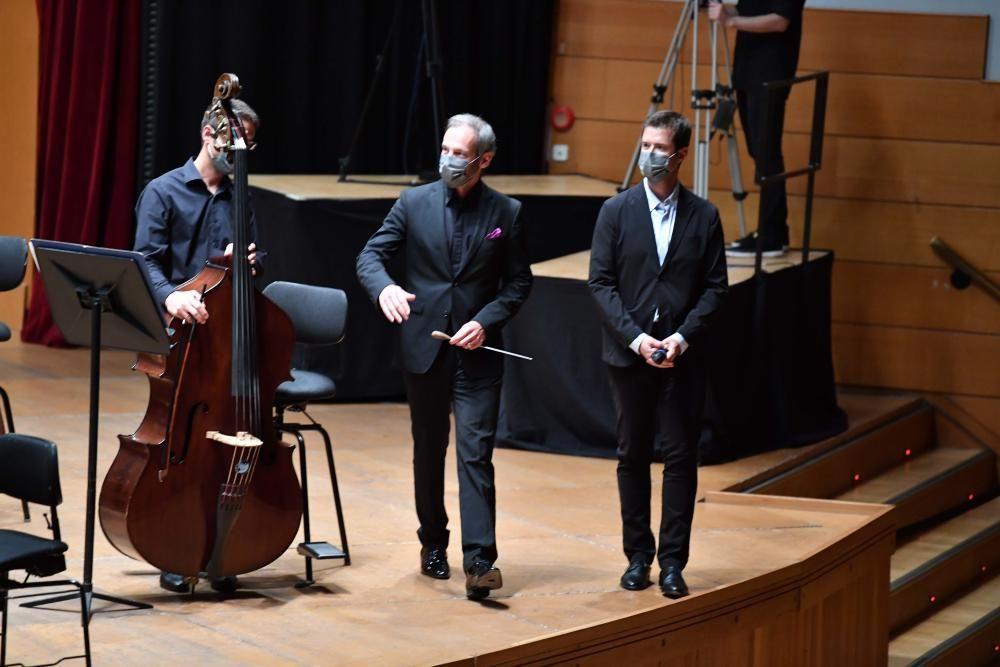 Primer concierto de la Orquesta Sinfónica tras la pandemia de Covid-19
