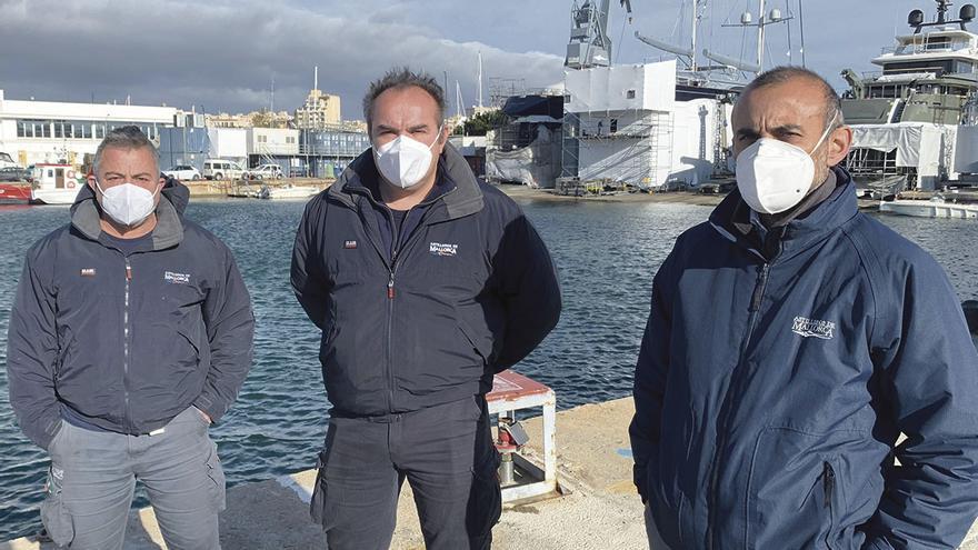 Peligran más de 400 puestos de trabajo en el puerto de Palma