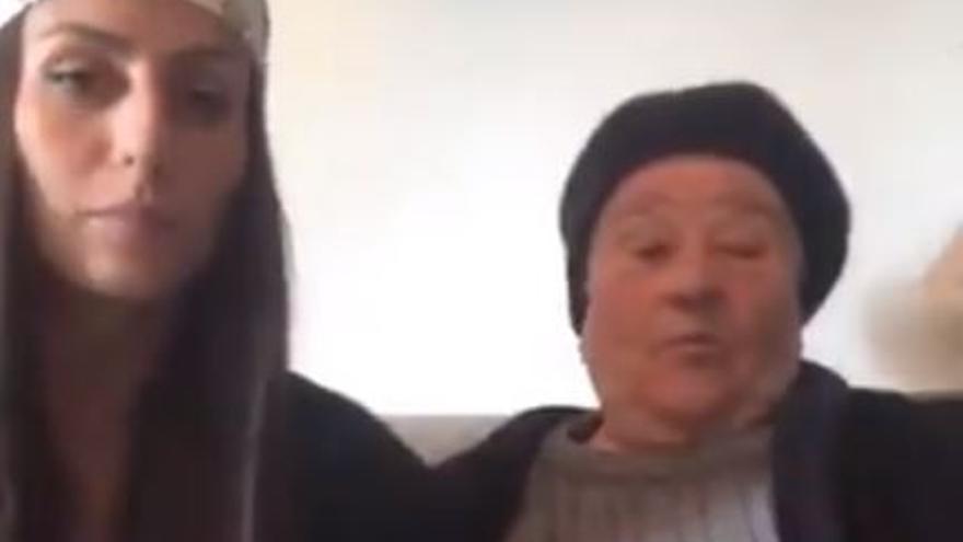 """""""Necesito ayuda, mi abuela está embarazada"""", la """"súplica"""" de una gallega que se hace viral"""