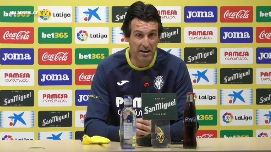 """Emery: """"El Celta llega a este partido con la confianza muy alta"""""""