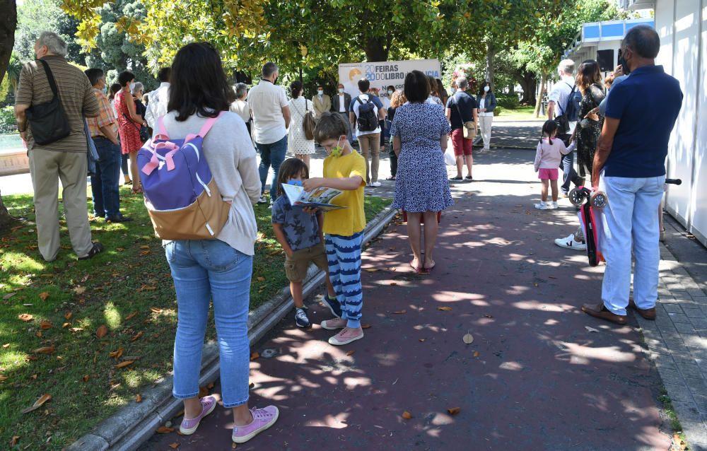 Arranca en los jardines de Méndez Núñez una Feria del Libro con menos casetas