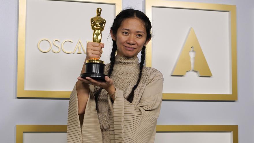 'Nomadland', gran triunfadora en los Oscars: mejor película, dirección y actriz