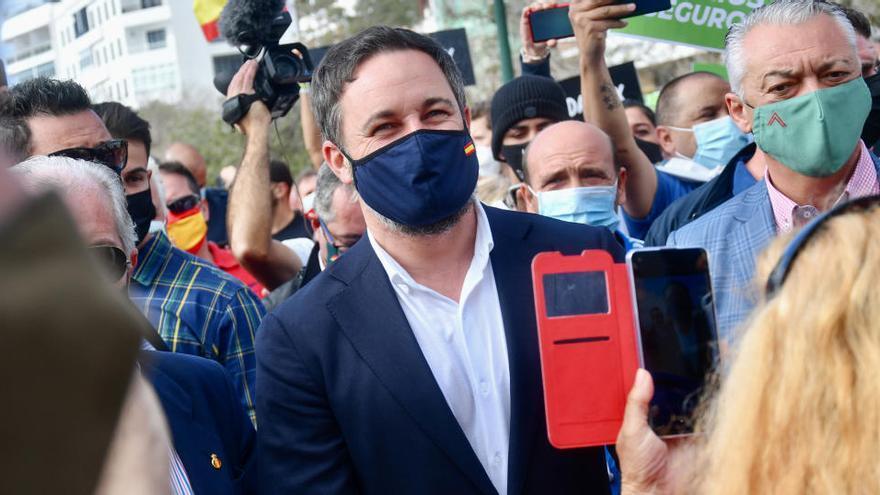 """Abascal se opone a un confinamiento que """"arreste"""" a los ciudadanos y les """"condene a la ruina"""""""