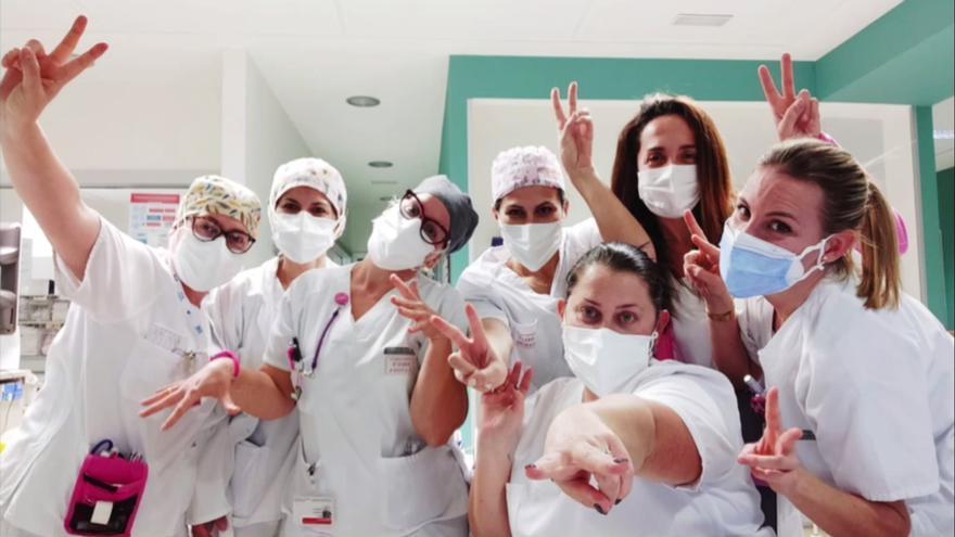 Homenaje al personal de enfermería del departamento de salud de Gandia