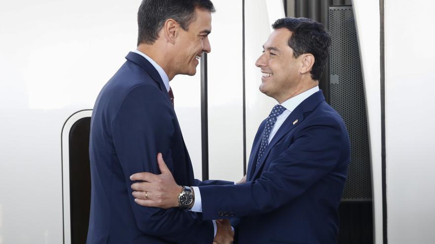 Sánchez se reunirá el 17 de junio con Juanma Moreno