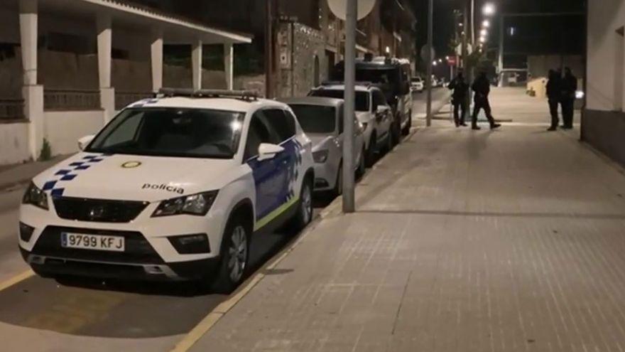 Operación contra una red de tráfico de marihuana que había corrompido a policías locales en Barcelona
