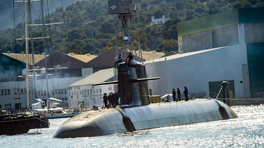 El submarino S-81 ya está en el mar