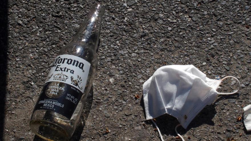 Desalojan 400 fiestas en casas y 97 botellones este fin de semana en Madrid