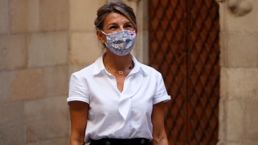 """Yolanda Díaz insisteix que el govern derogarà la reforma laboral del PP """"malgrat totes les resistències"""""""