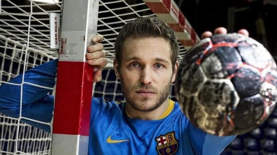 Víctor Tomàs, capità del Barça d'handbol, deixa l'esport professional per un problema cardíac