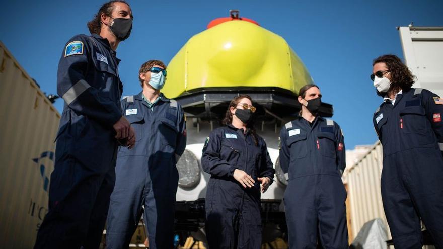 El submarino Piscis VI podría reforzar las labores de búsqueda de Anna y Tomás Gimeno