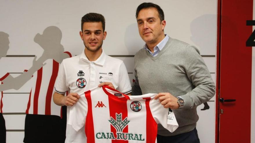 El Zamora CF ficha al extremo David López, que llega procedente del Cacereño
