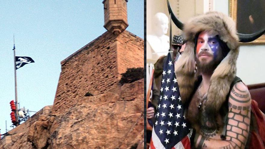 ¿Qué vínculo une al Castillo de Santa Bárbara con el asalto al Capitolio?