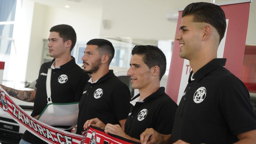 Munguía, Espejo, Jorge y Dieguito, nuevos bríos para el Zamora CF