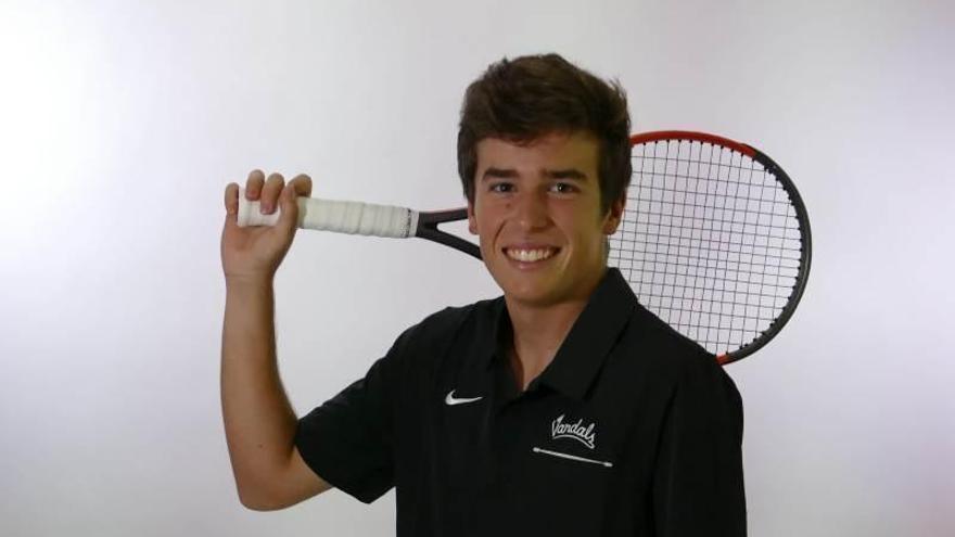 """El tenista Francisco Pérez, desde Idaho: """"Estoy algo asustado con los vuelos para volver"""""""