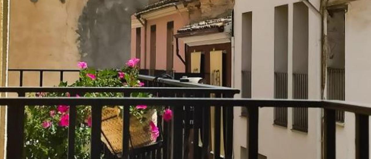 Algemesí, desde el balcón   FOTO CRISTINA A-NX