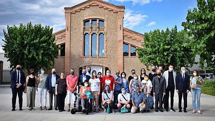 Acte de graduació de la tercera promoció del programa UniversiMÉS a la UManresa-Fundació Universitària del Bages