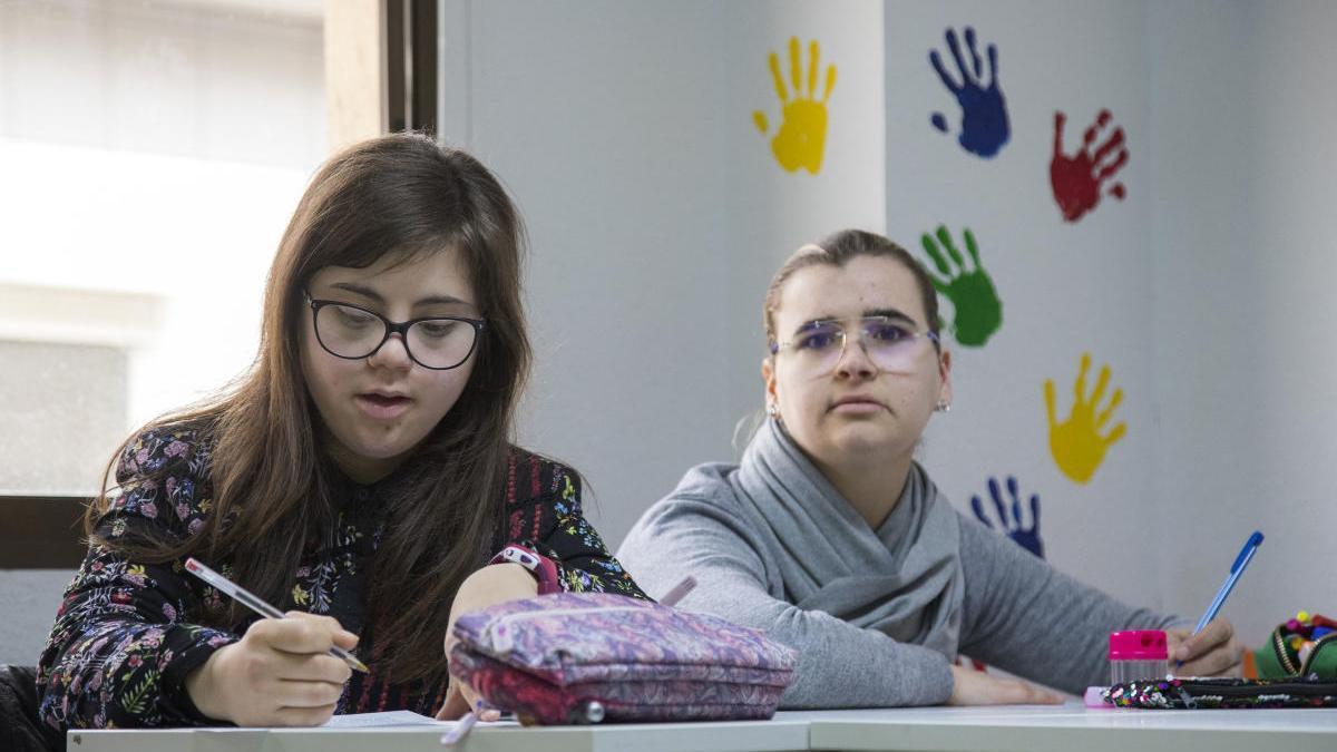 Imagen de archivo de la Fundación Síndrome Down de Castellón.