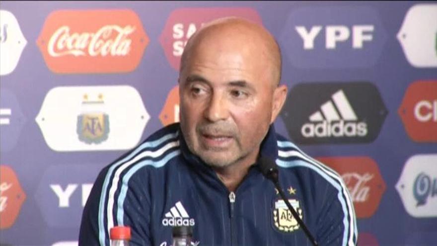 Jorge Sampaoli, nuevo seleccionador de Argentina