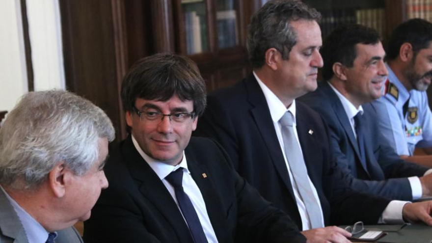 Comença la reunió de la Junta de Seguretat sense la Guàrdia Civil ni la policia espanyola