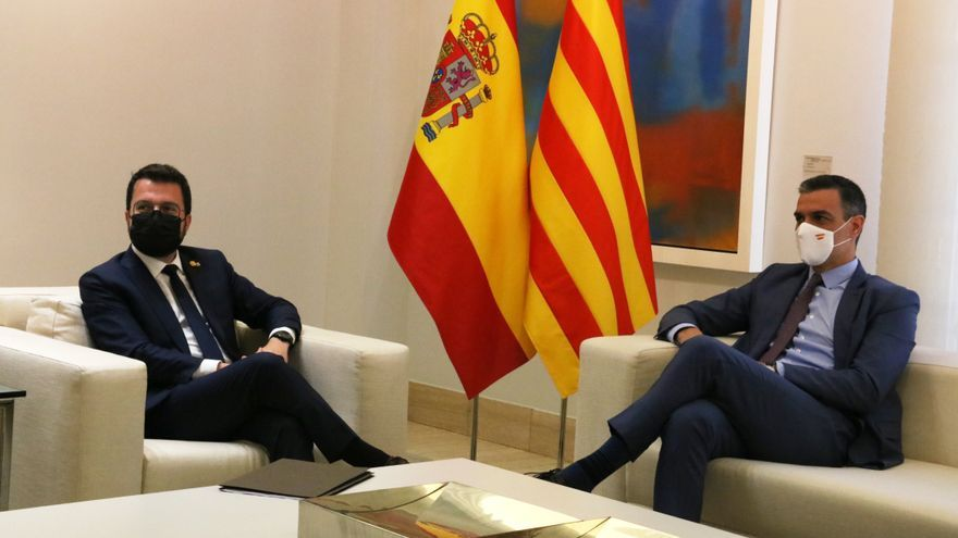 El Govern insisteix a reclamar la presència de Sánchez a la taula de diàleg i que es parli d'amnistia i autodeterminació