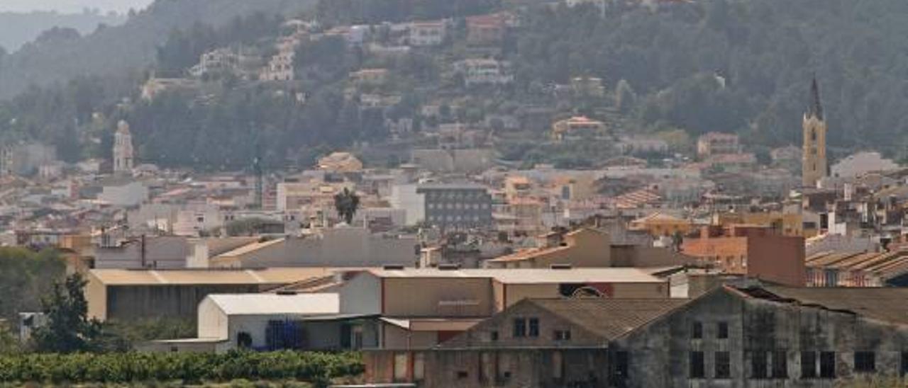 El casco urbano de Palma de Gandia.