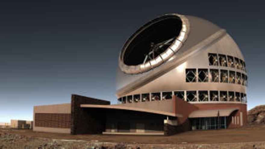Hawai da luz verde a la instalación del Telescopio de Treinta Metros que se aleja cada vez más de La Palma