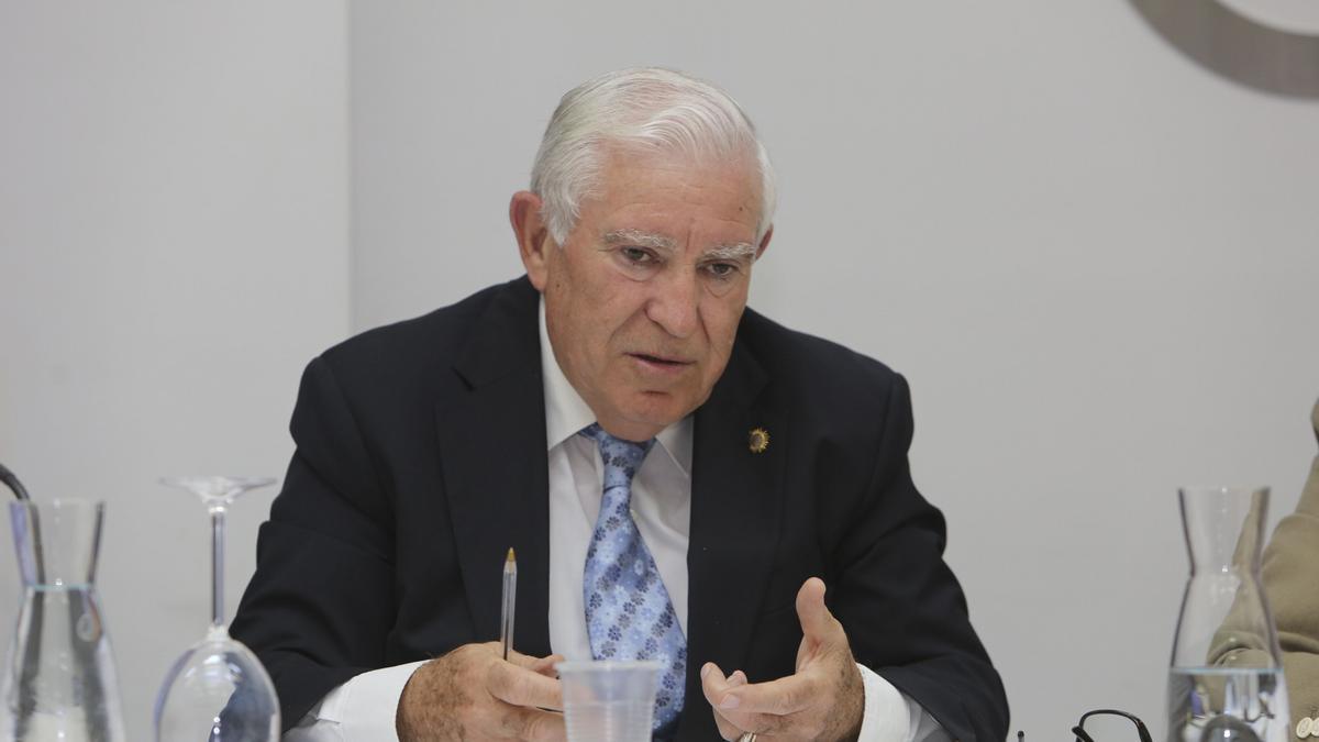 Antonio Saéz, presidente de Facpyme.