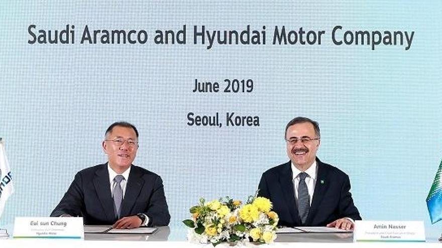 Hyundai se alía con Saudi Aramco para expandir el uso del hidrógeno en Corea del Sur y Arabia Saudita