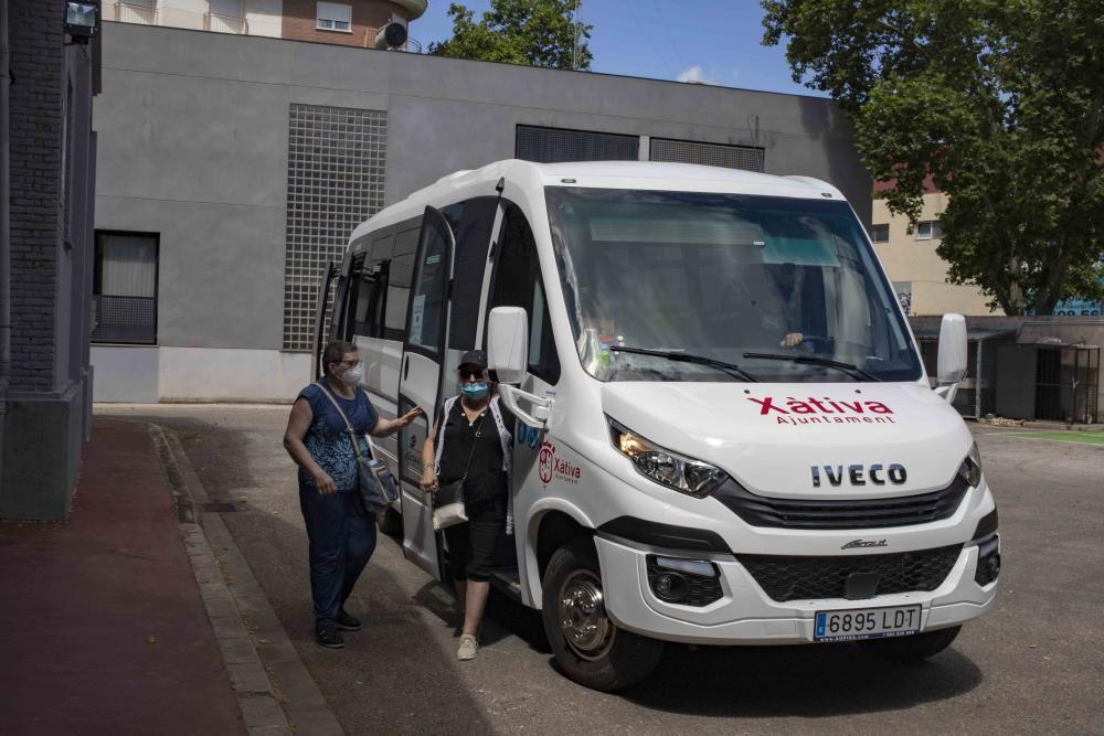 Nuevo bus urbano de Xàtiva