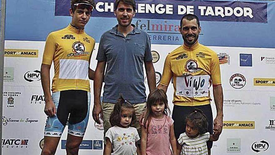 Salmerón y Amengual se visten de amarillo en la Challenge de Tardor
