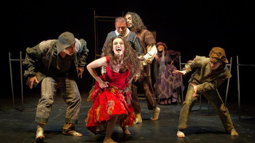 Espectáculo teatral 'La Celestina' de la compañía Atalaya