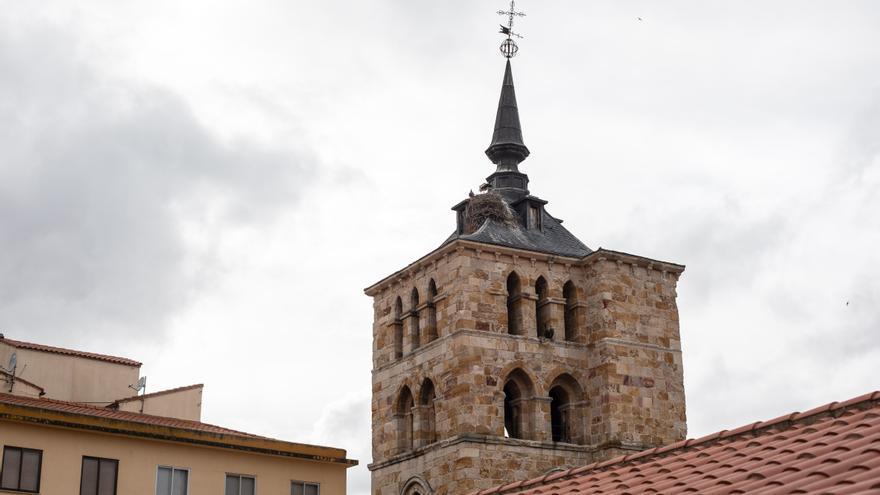La Junta restaurará la torre de la iglesia de San Vicente de Zamora capital