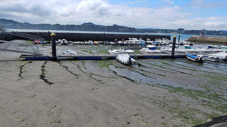 Portos encarga un nuevo estudio para dragar el puerto de Miño tras renunciar a la obra en 2013