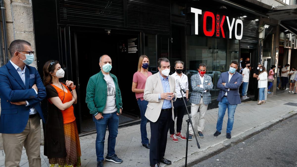 Prueba piloto en Vigo, en el local Tokyo